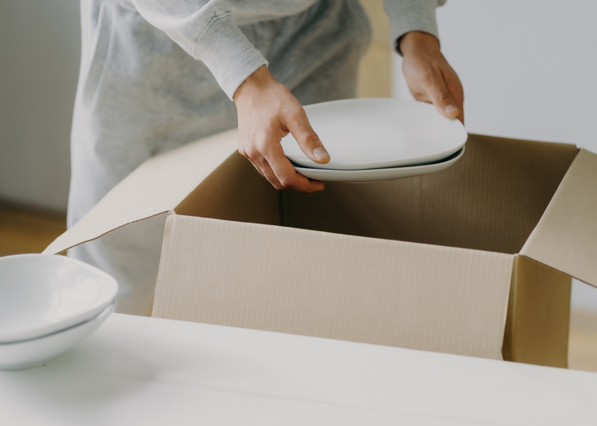 Tips for packing dishes for a move